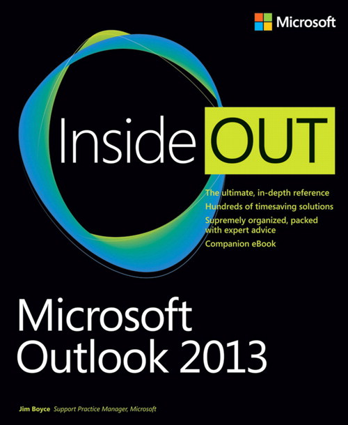 Microsoft Outlook 2013 Inside Out, CourseSmart eTextbook