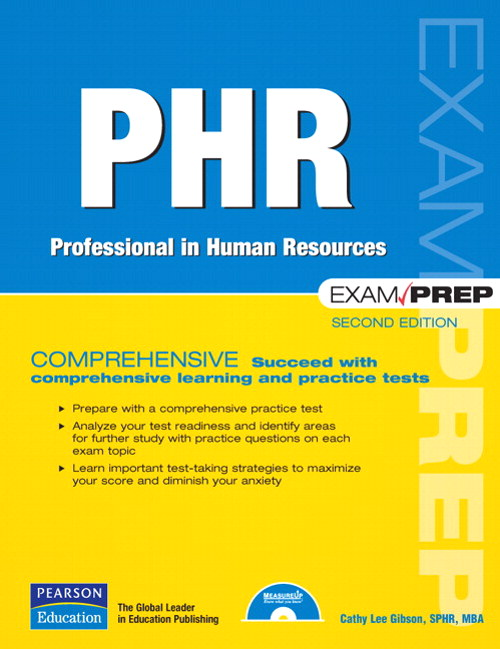 PHR Exam Prep: Professional in Human Resources, Safari, 2nd Edition