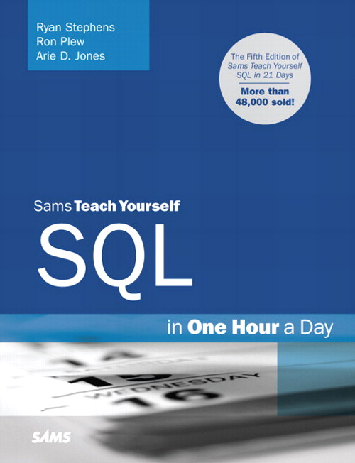Sams Teach Yourself SQL in One Hour a Day, Safari