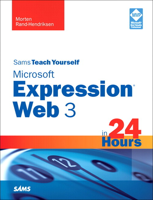 Sams Teach Yourself Microsoft Expression Web 3 in 24 Hours, Safari