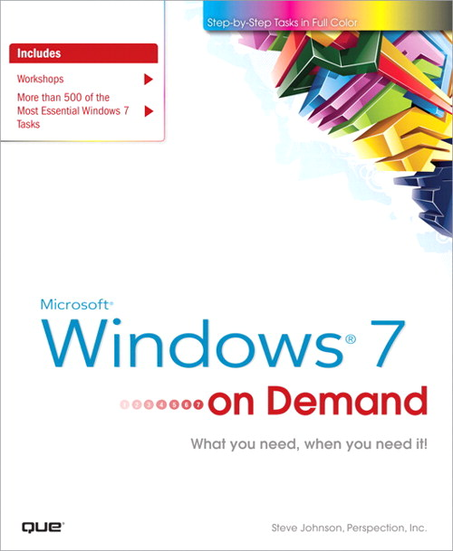 Microsoft Windows 7 On Demand, Safari