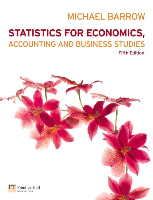 Statistics for Economics, Accounting and Business Studies CourseSmart eTextbook, 5th Edition