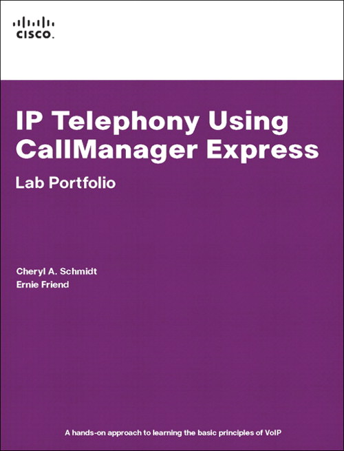 IP Telephony Using CallManager Express Lab Portfolio, Safari