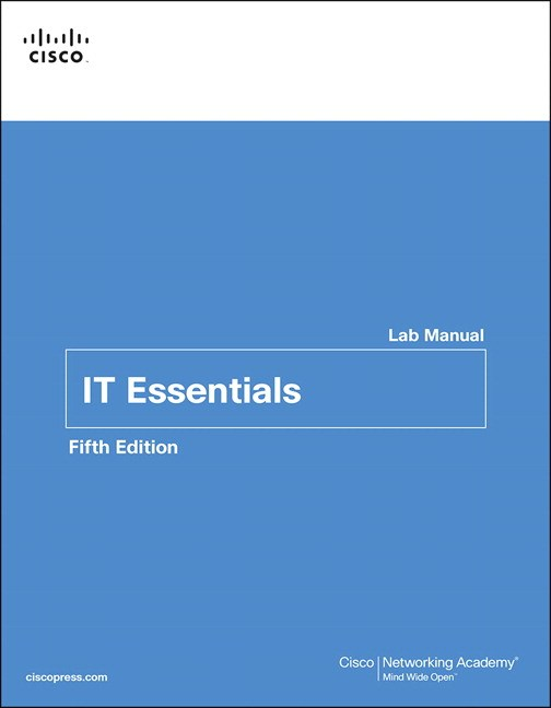 IT Essentials Lab Manual, 5th Edition