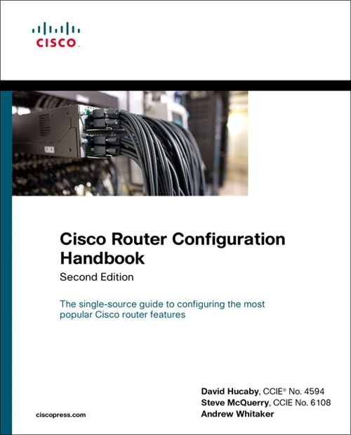 Cisco Router Configuration Handbook, Safari, 2nd Edition